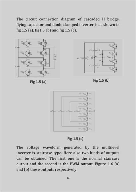 flying capacitor multilevel inverter circuit diagram multilevel inverter fault detectiion classification and diagnosis