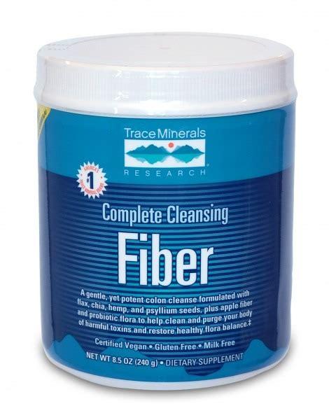 Detox Fibre Powder by Complete Cleansing Fiber Trace Minerals 8 5 Oz Powder Ebay