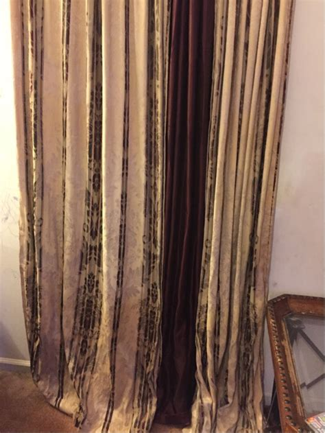burgundy and gold curtains letgo burgundy and gold curtains in jacksonville fl