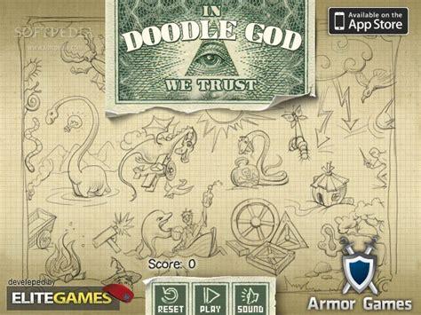 doodle god logo doodle god