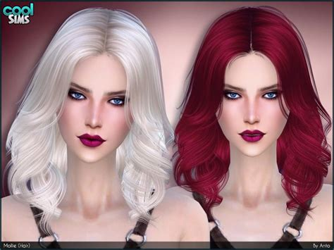 sims 2 coiffure 26 best coiffure sims4 images on pinterest sims resource