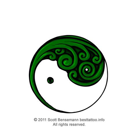 koru new beginning symbol tattoo design maori tattoo design silver fern koru yin and yang style