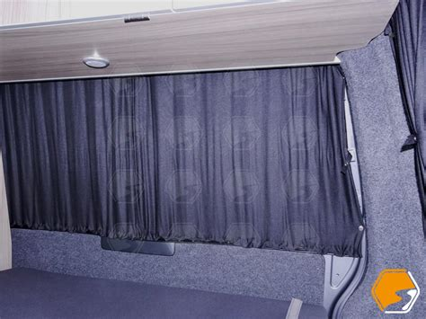 rear curtain vw t5 or t6 blackout curtains rear back window curtains