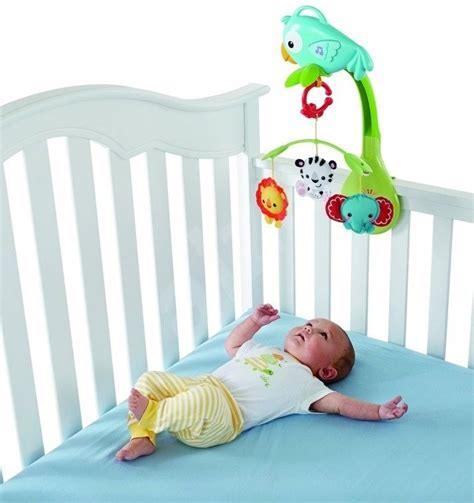 Cribs Toys by Fisher Price 3 In 1 Carousel Rainforest Crib