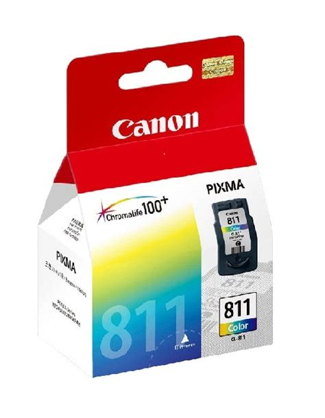 canon 811 color ink cartridge distributor tinta toner