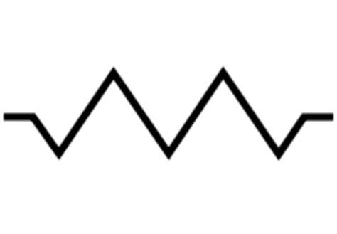 resistor and its symbol resistor symbol clipart best