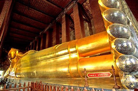 The Reclining Buddha by See The Reclining Buddha Wat Pho Temple Bangkok