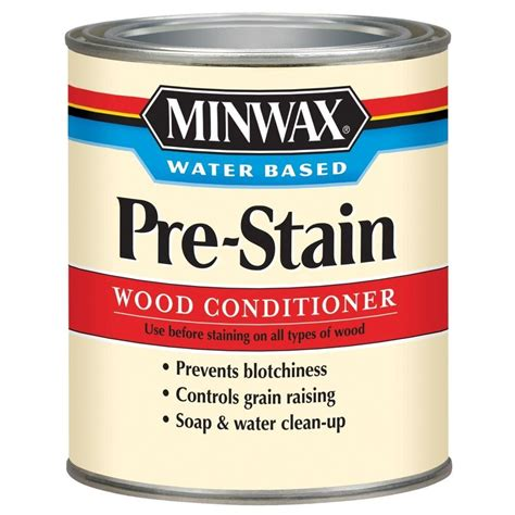 minwax 1 qt water based pre stain wood conditioner 4