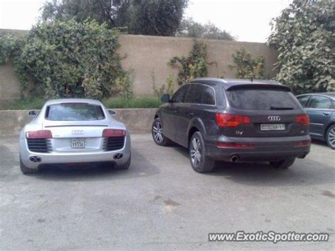 audi r8 spotted in damascus syria on 05 21 2009 photo 2