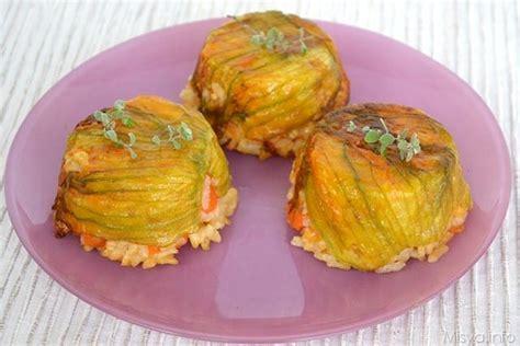 come fare i fiori di zucchine 187 timballini di riso alla zucca ricetta timballini di