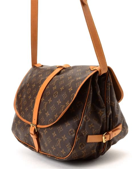 Lv Crossbody lyst louis vuitton crossbody bag vintage in brown