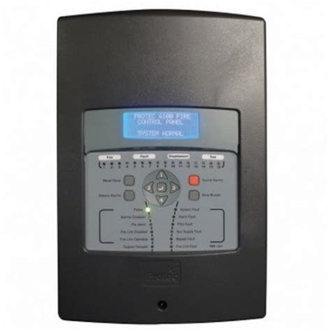 protec 6100 single loop alarm panel