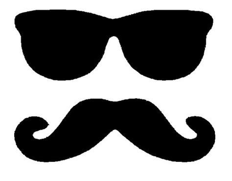 mustache silhouette clipart best