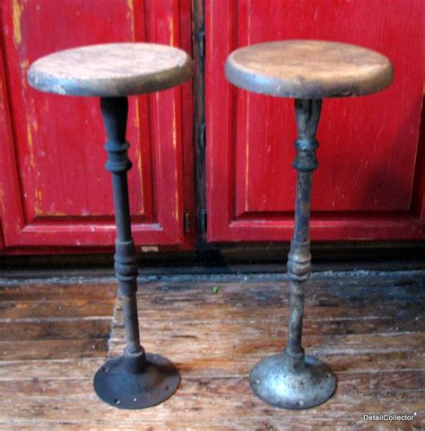 antique cast iron bar stools 2 antique bar stool victorian cast iron wood ice cream