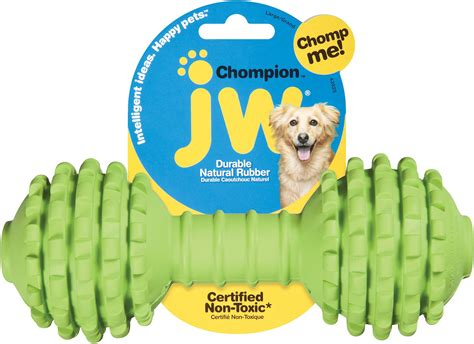 jw toys jw pet chompion color varies heavyweight chewy