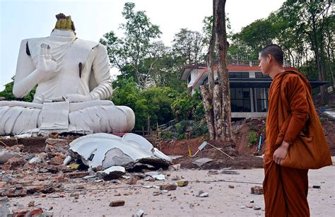 earthquake thailand officials say earthquake aftershocks to continue in chiang