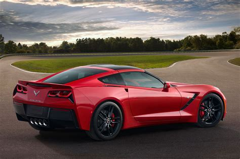 2015 corvette stingray 2015 chevrolet corvette stingray profile rear passengers