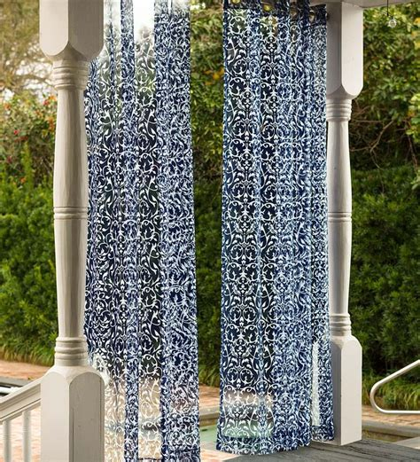 26 best outdoor curtains shades images on pinterest