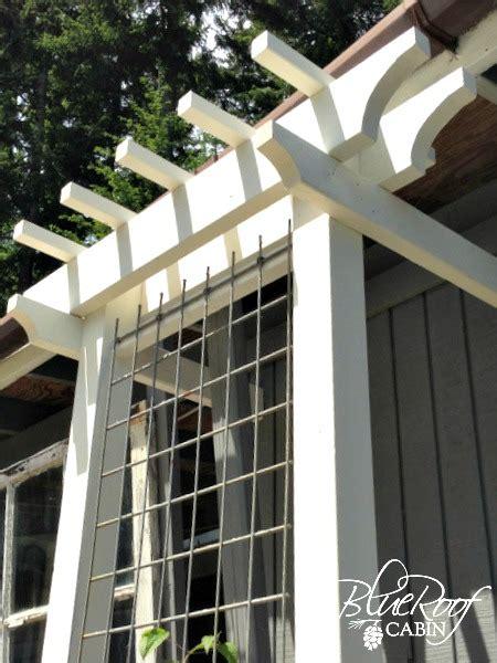 plans build trellis  woodworking