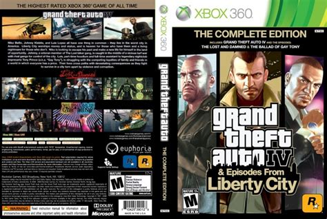 Gta Complete Editions completa grand theft auto 4 episodes liberty city gta 4