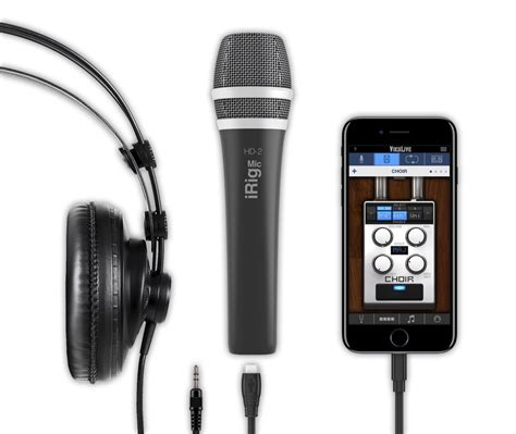 Wireless Microphone Android 9 ik multimedia irig mic hd 2 microphone for ios android mac pc