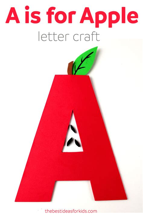 A For letter a craft a is for apple the best ideas for