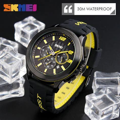 Ready 5 Pilihan Warna Jam Tangan Sport Pria Tetonis Dual Time Muraah skmei jam tangan analog pria 9136 jakartanotebook