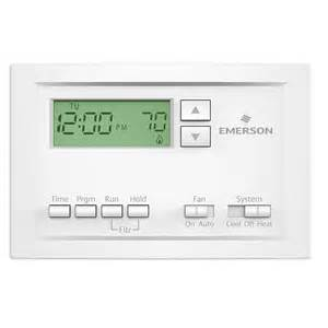 white rodgers 7 day programmable thermostats thermostats the home depot
