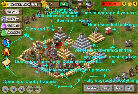 backyard monsters facebook backyard monster tips tricks strategies facebook game