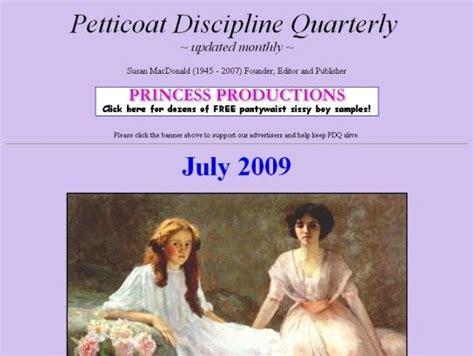 petticoat discipline quarterly petticoated