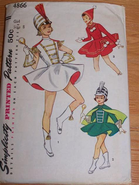 vintage majorette pattern 31 best halloween images on pinterest marching bands