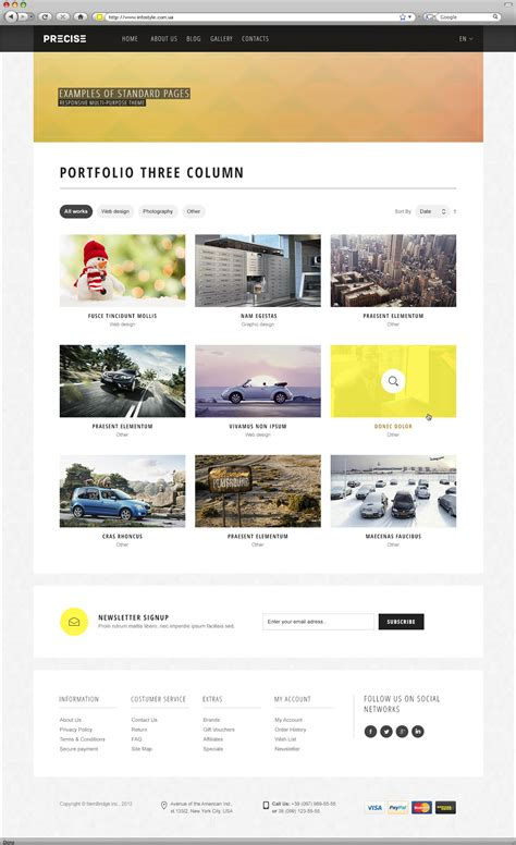 theme forest list precise multipurpose responsive template by wpway