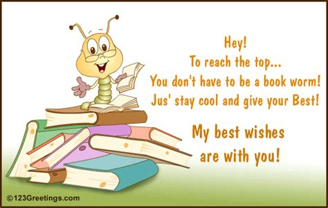 wishing good luck all the best exam messages facebook