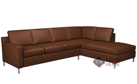 lazar lounge sectional soho leather chaise sectional by lazar industries is fully