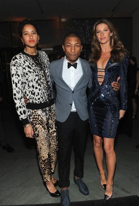 pharrell williams wife meet helen lasichanh the model lucky man pharrell williams attends wsj magazine s