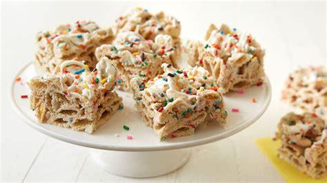 recipe   bake birthday cake bars simplemost