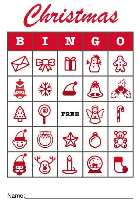 printable christmas bingo card generator 8 best images of free printable christmas bingo templates