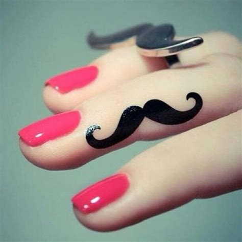 tattoo finger mustaches mustache tattoo index finger and first tattoo on pinterest