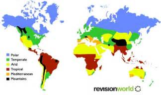 global distribution map gcse revision geography