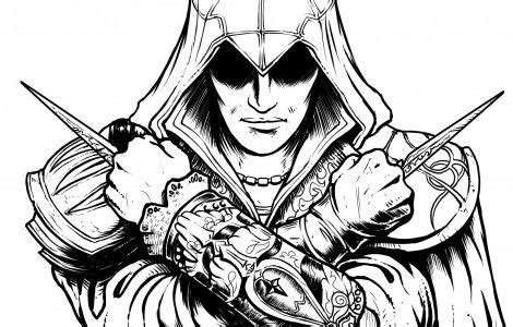 assassins creed colouring book 1783707860 assassins creed coloring page devon and dominic assassins creed