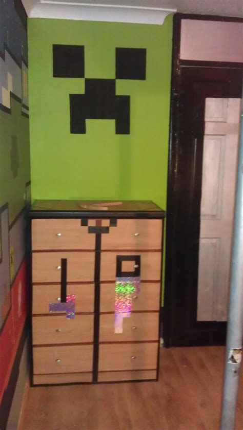 Real Minecraft Bedroom by Minecraft In Real Clenrock Real