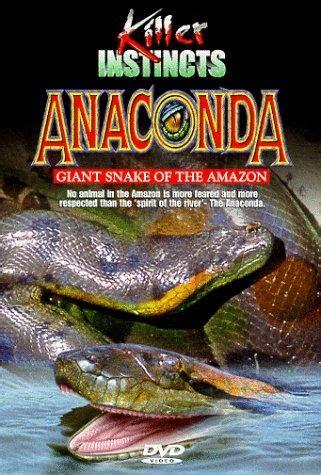 anaconda giant snake   amazon tv