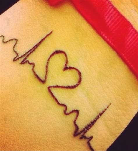 heart beat rate tattoo heartbeat faith tattoo designs awesome heart beat pictures