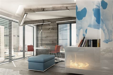 blue modern living room classically cool living rooms