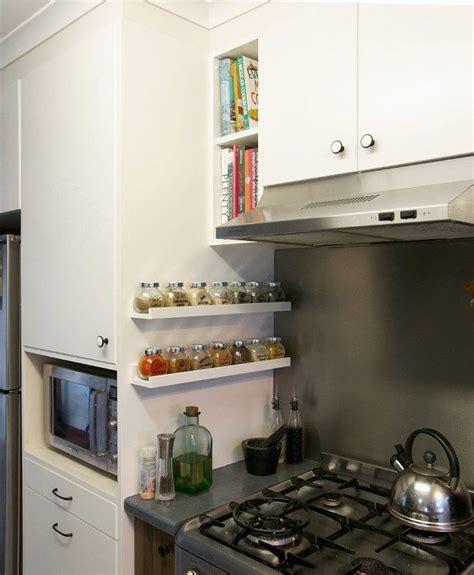 ikea shelves spices and spice racks on