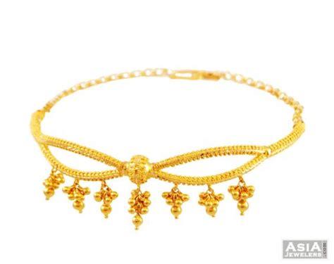 bajuband pattern 22k designer arm bracelet bajuband ajbb55428 22k gold
