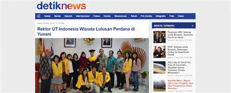 detiknews tv perdana universitas terbuka