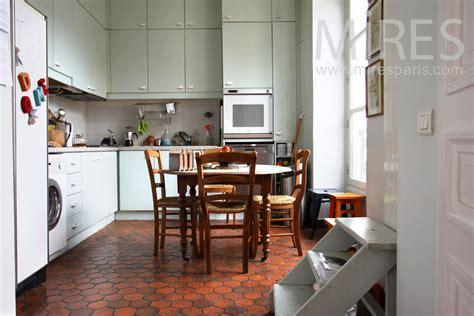 cuisine tomette cuisine avec tomettes c0873 mires