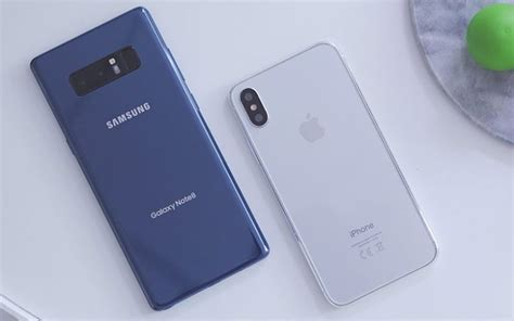 Note 8 Pictures Vs Iphone X