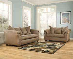 Ashley Darcy Loveseat Ashley Darcy Mocha Sofa 7500238 Couch